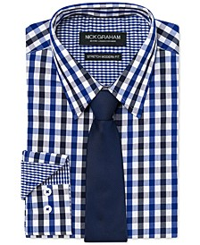Men's Modern-Fit Shirt and Tie