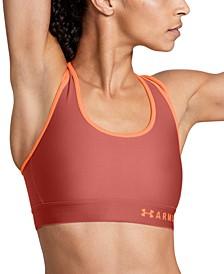 Women's HeatGear® Cross-Back Mid-Impact Sports Bra