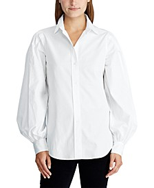 Cotton Broadcloth Shirt