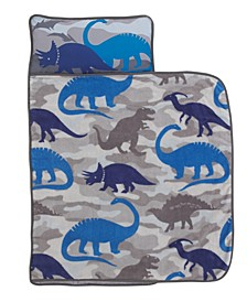 Dinosaur Nap Mat with Pillow and Blanket