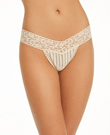 One-Size Lace Thong Underwear 40118