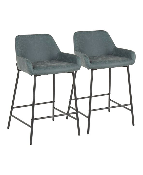 Lumisource Daniella Counter Stool (Set of 2)