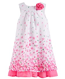 Toddler Girls Chiffon Flower Dress