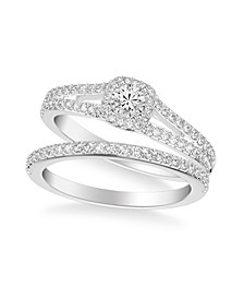 Diamond Bridal Set (3/4 ct. t.w.) in 14k White, Yellow or Rose Gold