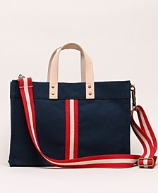 Striped Mini Box Tote