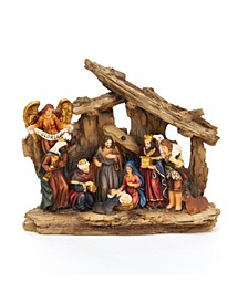 7-Inch Resin Nativity Table Piece, 11 Piece Set
