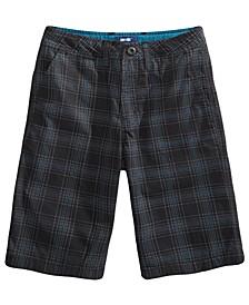 Big Boys Elkwater Plaid Shorts