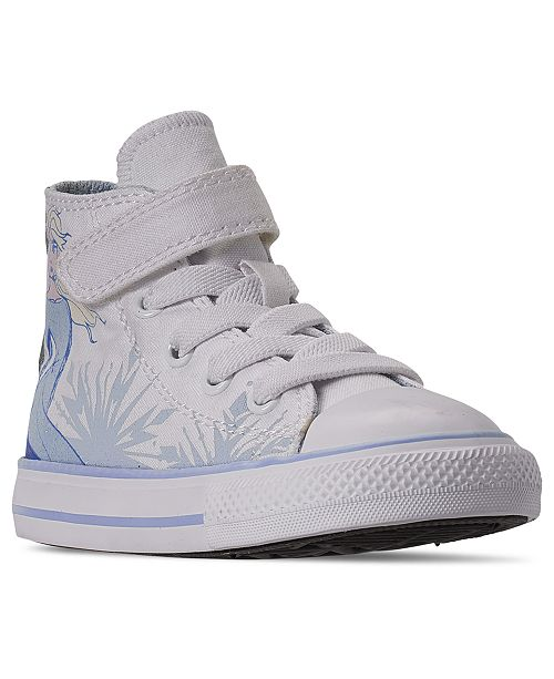 Converse Little Girls Converse x Frozen 2 Chuck Taylor All Star Hi Top Casual Sneakers from Finish Line