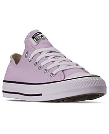 Women's Chuck Taylor All Star Low Top Casual Sneakers from Finish Line