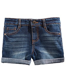 Toddler Girls Cuffed Denim Shorts, Created For Macy's
