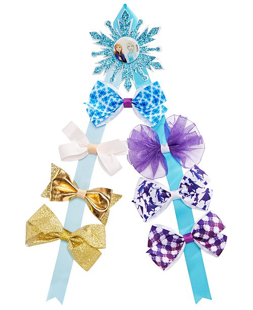 On the Verge Little & Big Girls Frozen Bow Keeper