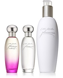 pleasures - Sheer to Intense Perfume Collection
