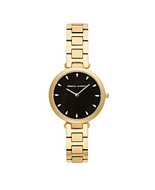 Womens Major Gold Stainless Steel Watch 33MM