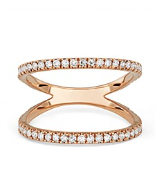 Diamond (1/2 ct. t.w.) Open Ring in 14K Rose Gold