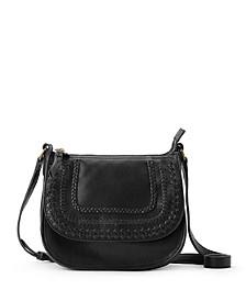 Playa Leather Saddle Bag