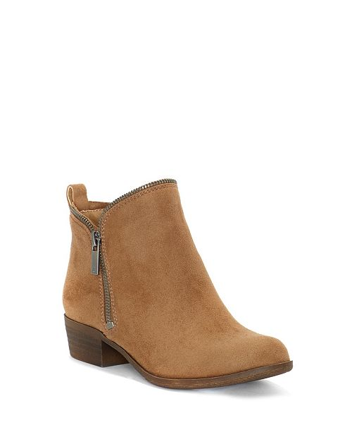 Lucky Brand Kids By Vince Camuto Big Girls And Little Girls Double Zip Short Boot Design