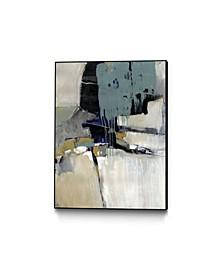 "40"" x 30"" Fluidity I Art Block Framed Canvas"