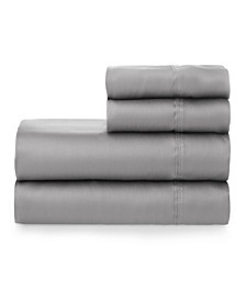 The Smooth Cotton Tencel Sateen Twin Sheet Set