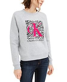 Zebra Logo Sweatshirt