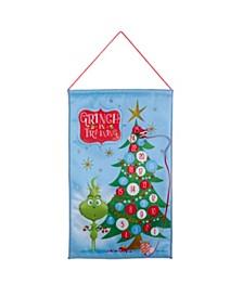 19-Inch Fabric The Grinch™ Advent Calendar