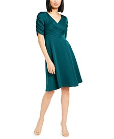 Satin Draped Dress, Created for Macy's