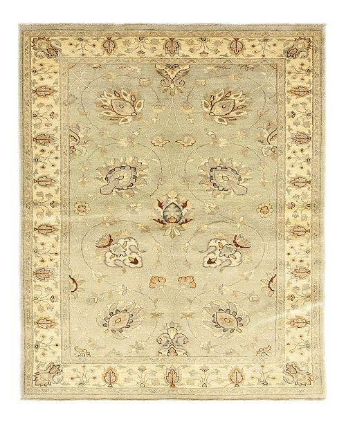 """Timeless Rug Designs CLOSEOUT! One of a Kind OOAK177 Ivory 5'1"""" x 8'1"""" Area Rug"""