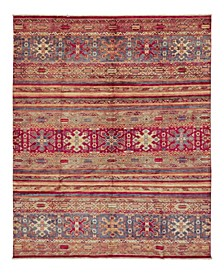 """CLOSEOUT! One of a Kind OOAK1128 Red 8'1"""" x 11'2"""" Area Rug"""