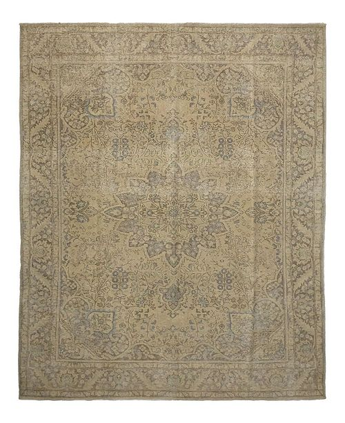 "Timeless Rug Designs One of a Kind OOAK1156 Hazelnut 9'7"" x 13'2"" Area Rug"