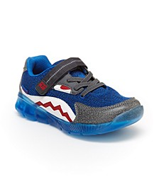 Made2Play Shark Little Boys Lighted Athletic Shoe