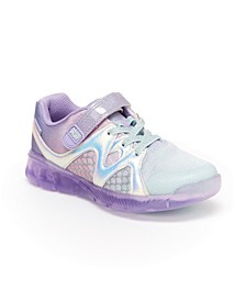 Made2Play Mermaid Little Girls Lighted Athletic Shoe