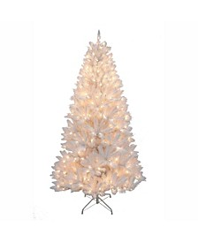 7-Foot Pre-Lit White Tree