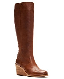 Emma Wedge Tall Boots