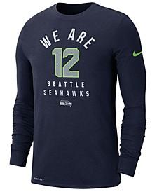 Men's Seattle Seahawks Local Pack Sideline Long Sleeve T-Shirt