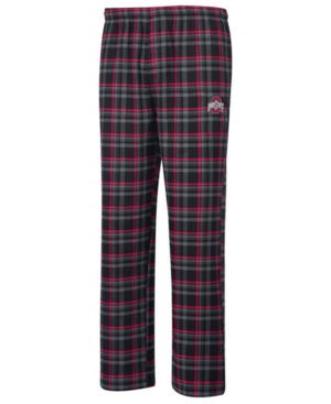 Top of the World Men's Ohio State Buckeyes Dreamer Flannel Pajama Pants