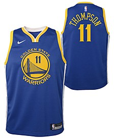 Big Boys Klay Thompson Golden State Warriors Icon Swingman Jersey