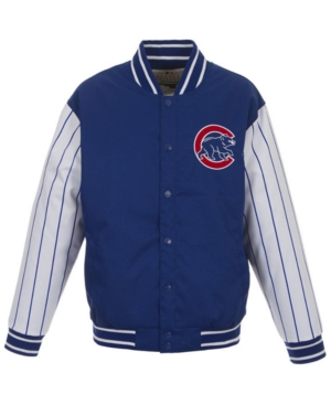 Men's Chicago Cubs Poly-Twill 2 Color Jacket