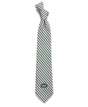 New York Jets Poly Gingham Tie