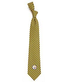 Pittsburgh Steelers Poly Gingham Tie
