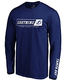 Men's Tampa Bay Lightning Chase Down Long Sleeve T-Shirt