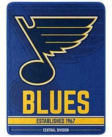 St. Louis Blues Micro Raschel Break Away Blanket