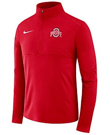 Men's Ohio State Buckeyes Element Quarter-Zip Pullover