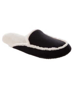 Isotoner Microsuede Alex Scuff with 360 Surround Memory Foam Slipper, Online Only