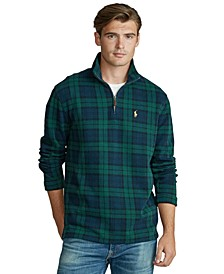 Men's Tartan Estate-Rib Pullover
