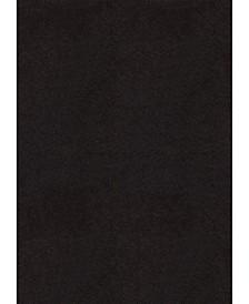 "Aria Brushstrokes 701 90077 46 Charcoal 3'11"" x 5'3"" Area Rug"