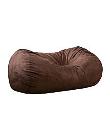 6.5ft Suede Bean Bag