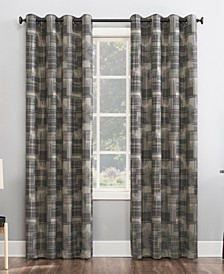 Marcus Crosshatch Thermal Extreme 100% Blackout Curtain Panel 52x96