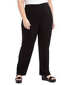Plus Size Straight Pants