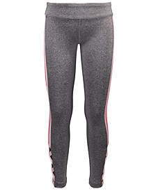 Little Girls Side-Stripe Caged Leggings, Created For Macy's