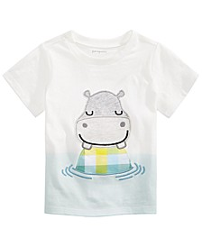Toddler Boys Cotton Hippo T-Shirt, Created For Macy's