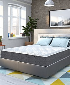 "Smart Temp 12""Quilted Memory Foam Mattress- Twin"